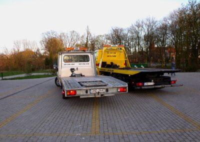 Pojazdy służące do pomocy drogowej, lawety